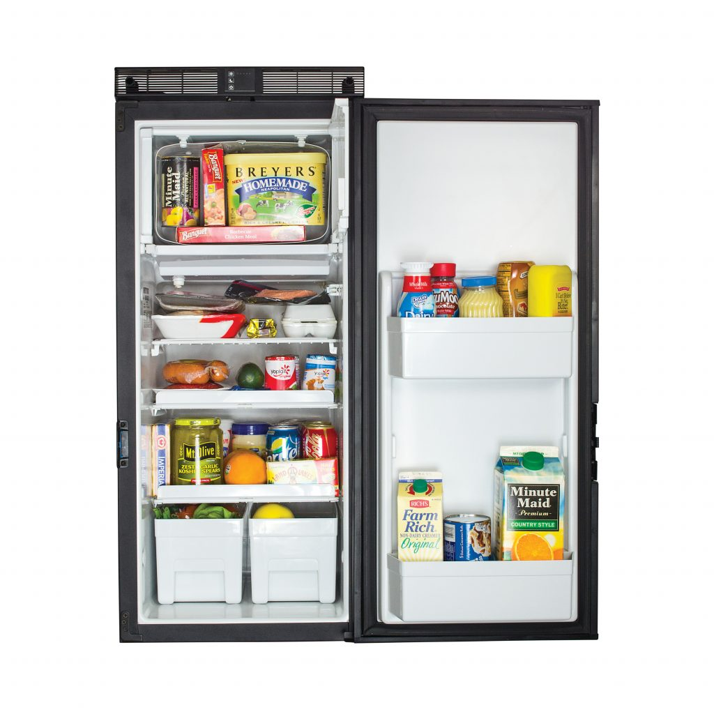 Norcold T1090 Refrigerator - Open view