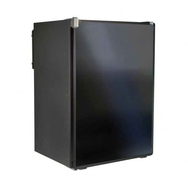 Norcold 0788 RV Refrigerator Black - Front Left Angle View