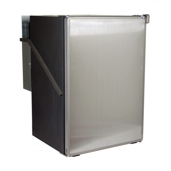 Norcold 0788 RV Refrigerator Stainless Steel - Front left angle view