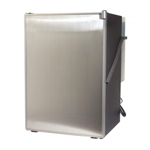 Norcold 0788 RV Refrigerator Stainless Steel - Front right angle view