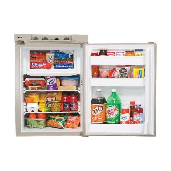 Norcold N305 RV Refrigerator - Open View Controls