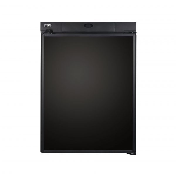 Norcold N305 RV Refrigerator - Black Front View