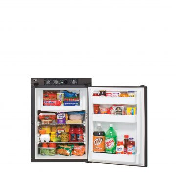 Norcold N306 Refrigerator - Open View with Controls