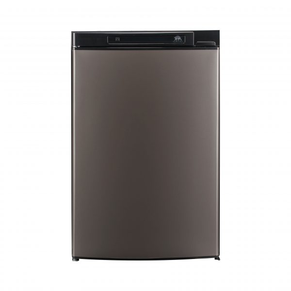 Norcold N3104 RV Refrigerator Black - Front View