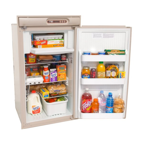 Norcold N510 RV Refrigerator Beige - Open view