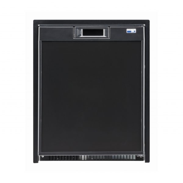 Norcold NR740 RV Refrigerator Black - Front View