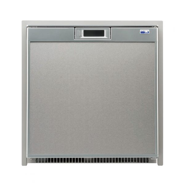 Norcold NR751 RV Refrigerator Stainless Steel - Front view