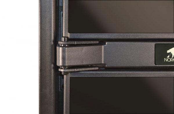 Norcold NXA641 RV Refrigerator - Door Hinge detail