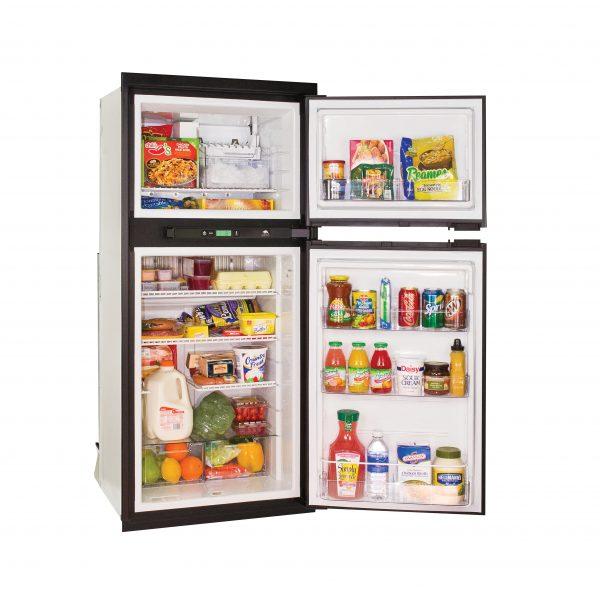 Norcold NXA641 RV Refrigerator - Open Angle View