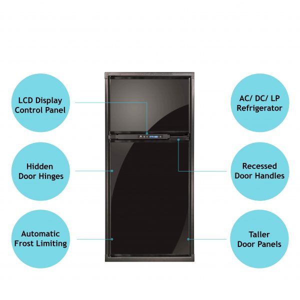 Norcold Polar NA7LX Refrigerator Front View